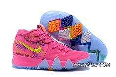 "ffea3dba0cb Buy Now Nike Kyrie 4 ""What The"" Pink Teal Christmas"
