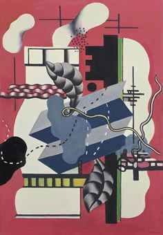 FERNAND LEGER (1881-1955) NATURE MORTE À LA CLÉ Pablo Picasso, Modernisme, Cubism Art, Arts Ed, Art Moderne, Shape And Form, Art Plastique, Art History, Painting & Drawing