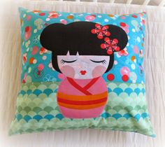 ..........................Pegyna - another beautiful stuff from Petra - lovely pillows from Hello Tokyo by Lisa Tilse and RKF
