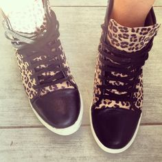 Nef From Twin Fashion in the Hell Cat Sneaker (http://www.nastygal.com/shoes/hell-cat-sneaker) #ShoeCult