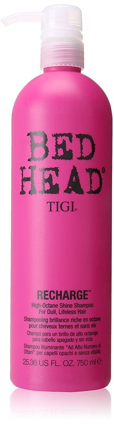 TIGI Bed Head Recharge High-Octane Shine Shampoo for Unisex, 25.36 Ounce * For more information, visit now : Hair Care Shampoo