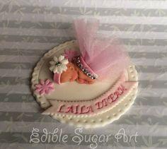 PRINCESS  BABY SHOWER Cake Topper Fondant Cake Topper baby girl