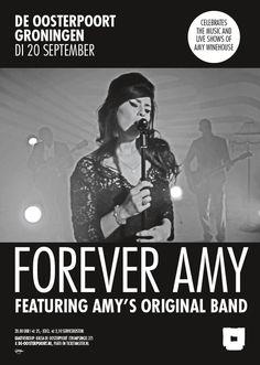 Forever Amy is een overweldigende reis door de muziek en de live-optredens van Amy Winehouse. Met de originele band van Amy en Alba Plano! Meer info & kaarten: http://www.de-oosterpoort.nl/programma/forever-amy/