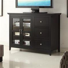 Convenience Concepts 8043387 Designs2Go™ Sierra Highboy TV Stand