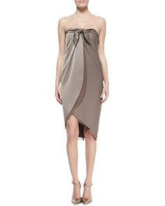 Strapless and seductive with Halston Heritage! 212 872 8988