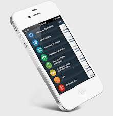 Resultado de imagen para app menu design