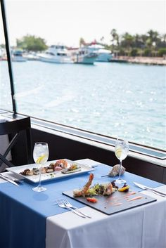 Divaz is our floating #seafood restaurant at The Residence at our #JApalmtreecourt Find out more: qoo.ly/3jdty