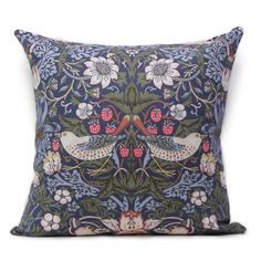 Strawberry Thief Original Cushion