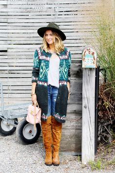 Dallas Shaw Blog { free people frosted fairisle cardigan }