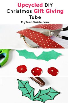 Looking for a cute gift idea? Check out this DIY Chrismas gift giving tube! It's a fun craft for the holidays & super cute too! Super Easy Crafts For Kids, Crafts For Kids To Make, Christmas Crafts For Kids, Diy Christmas Gifts, Christmas Decorations, Cute Crafts, Kid Crafts, Giving, Upcycle