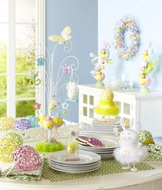 Be as bright or whimsical as you'd like with glittery decor from Pier 1
