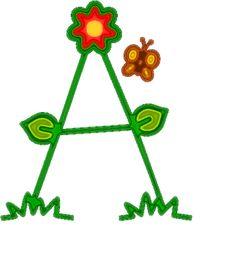 Alfabeto Primavera - Letras com flores! - Alfabetos Lindos