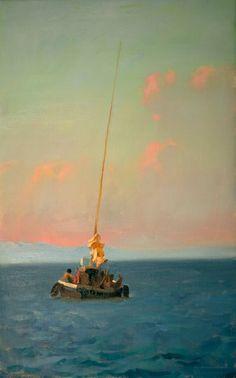 Sunset Sail, by Kim English