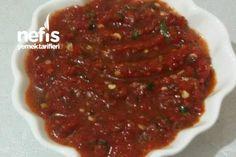 Kışlık Acılı Sos Kaynatmadan Beans, Vegetables, Food, Essen, Vegetable Recipes, Meals, Yemek, Beans Recipes, Veggies
