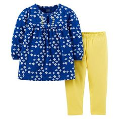 Just One You™Made by Carter's® Girls' Diamond Print 2 Piece Set