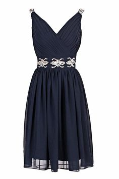 Sexy Prom Dress,Sleeveless Prom Dress,Short Prom Dresses,Navy Evening