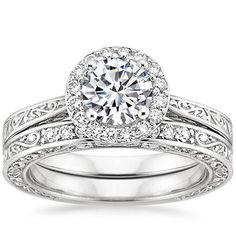 18K White Gold Contessa Ring from Brilliant Earth