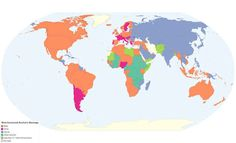 Here's a map showing the world's favorite types of alcohol. | 30 Maps That Are Missing From Your Life