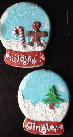 Snowglobe  Cookies --------> http://tipsalud.com