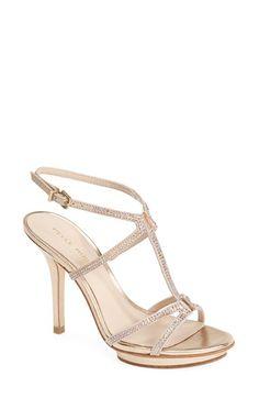 Pelle Moda 'Randal' Crystal Embellished Sandal (Women) available at #Nordstrom