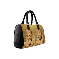 Temple of Sun Boston Handbag. FREE Shipping. #artsadd #bags #egypt