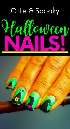 Cute Halloween Nails, Halloween Foods, Halloween Nail Designs, Halloween Movies, Easy Halloween, Halloween Costumes, Diy Nail Designs, Short Nail Designs, Cute Short Nails