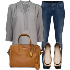 """Today look"" by fernndez-andrea on Polyvore"