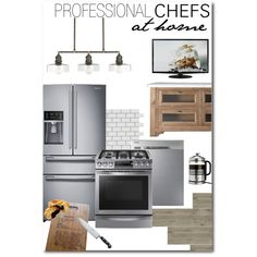 Pair these Samsung appliances with simple and rustic design elements and cook like a professional chef in your home.