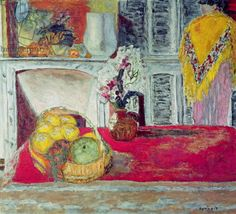 Pierre Bonnard, Corner of the Dining Room at Le Cannet, c.1932 (oil on canvas), 81x90 cm