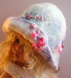 Hat for Helen Kish doll Riley or similar dolls 7  by RabbitInHats