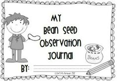 FREE! This is a simple seed observation journal. Students