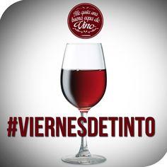 #Viernes de #Vino #Tinto #CopaDeVino #VinoTinto #viernesDeTinto