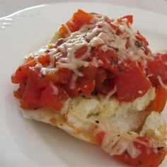 Baked Cod with Boursin Herb Cheese and Tomatoes