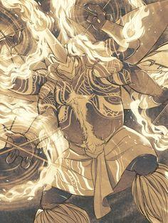 Fire Dance by White-Mantis.deviantart.com on @DeviantArt