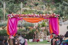 Photography: Pedro Bellido - www.pedrobellido.com  Read More: http://www.stylemepretty.com/little-black-book-blog/2014/10/23/colorful-multicultural-marbella-wedding/