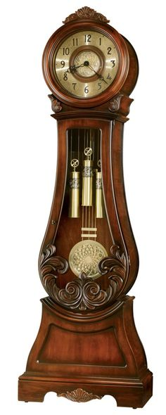 Chiming Grandfather Clock :: My husband LOVES clocks ... one day, one day this would be a dream to have!