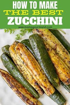 Recipes Zucchini Learn how to cook zucchini the absolute best way! Roasted Zucchini is an easy, oven baked recipe perfect all year round. Golden, roasted summer squash is flavored with garlic and seasonings for a healthy side dish everyone will devour! Veggie Side Dishes, Healthy Side Dishes, Vegetable Dishes, Side Dish Recipes, Oven Dishes Recipes, Healthy Dinner Sides, Summer Side Dishes, Dinner Recipes, Meat Recipes