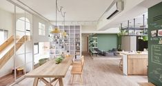 Charming Apartment Designed Like a Playground via Curbed #HomePlayscape #InteriorDesign