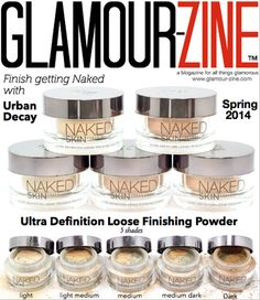 Urban Decay Naked Skin Ultra Definition Loose Finishing Powder - #urbandecay #nakedskin #loosefinishingpowder #makeup #beautyreview #glamourzine - bellashoot.com