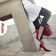 Step up your outfit game with red hot heels and a bag to match. Louboutin Pumps, Christian Louboutin, Hot Heels, Personal Stylist, Stiletto Heels, Stylists, Game, Red, Outfits