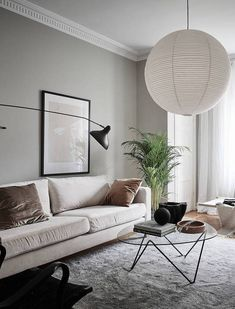 Fresh and cozy apartment - Living Room - Design Small Living Room Design, Paint Colors For Living Room, Living Room Grey, Small Living Rooms, Interior Design Living Room, Living Room Designs, Living Room Decor, Modern Living, Kitchen Interior