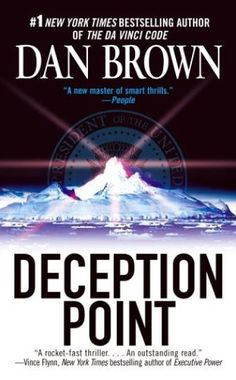 A Book Involving Travel - Deception Point By Dan Brown
