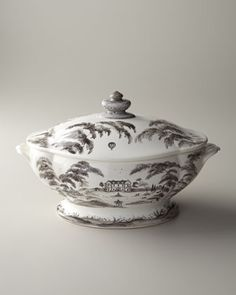 """Country Estate"" Main House Lidded Soup Tureen by Juliska at Neiman Marcus. $398"