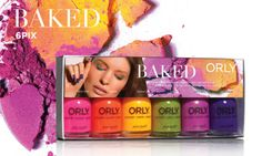 ORLY BAKED Collection http://www.orlybeauty.com/nail-color/nail-color-by-collection/baked.html