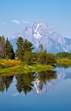 Jackson Hole, Yellowstone National Park, Wyoming also extends into Montana and Idaho. The Places Youll Go, Places To See, Places To Travel, All Nature, Amazing Nature, Grand Teton National Park, National Parks, Beautiful World, Beautiful Places