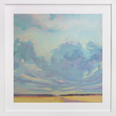 living room art? Big Sky Country by Vicki Rawlins at minted.com