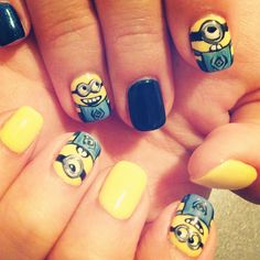 My minion nails <3