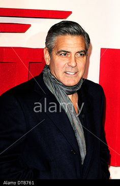 London, UK. 11th February 2014. George Clooney attends The Monuments Men Premiere © Peter Phillips/Alamy Live News