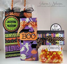 Halloween Treats in Bags