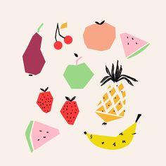 Fruits and Veggies - Emily Isabella